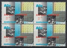 Niederlande 1999 ** Mi.1736 Bl/4 Arbeitgeberverband Drucker printer [st2512]