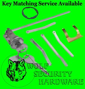 Chrysler Dodge Plymouth Boot Trunk Lock Key Cylinder Tumbler Assembly 2 Keys