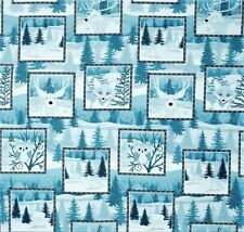 Winter Frost Label Patchwork Stoffe Weihnachtsstoffe Patchworkstoffe Weihnachten