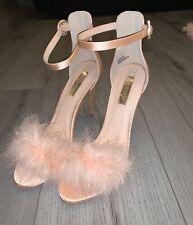 Brand New Primark Size 7 Pink Fluffy Heels