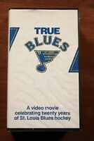 Vintage St. Louis Blues True Blues VHS Tape NHL Hockey Documentary KMOX Radio