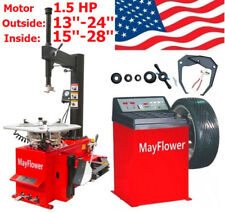 1.5 HP Tire Changer Wheel Changers Balancer Machine Combo 980 800 Red Edition