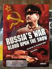 Russia's War: Blood Upon the Snow (DVD, 2009,  3-Disc Set) - VERY RARE!!!