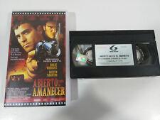 ABIERTO HASTA EL AMANECER TARANTINO CLOONEY TERROR VHS TAPE CINTA CASTELLANO