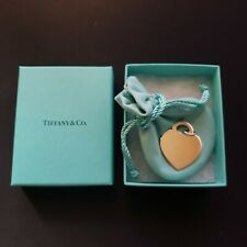 TIFFANY & CO. ULTRA LARGE HEART TAG CHARM STERLING SILVER PENDANT AG 925