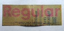 Original 'REGULAR' Gas Station Pump Dial Sticker for #'d Bennett, Wayne Pumps