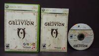 Elder Scrolls IV Oblivion  - Microsoft Xbox 360 Complete Game - Tested !