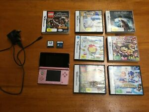 Nintendo 3DS Console + Charger +  9 Game Bundle (Tested + Working)