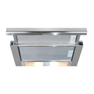 CDA Kitchen CTE61SS 60cm Telescopic Cooker Hood Extractor Fan In Stainless Steel