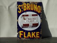 vintage enamel sign st Bruno