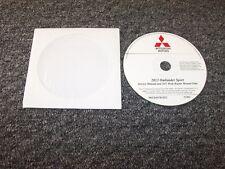 2012 Mitsubishi Outlander Sport Shop Service Repair Manual DVD ES SE 2.0L