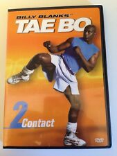 TAE BO CONTACT 2 Billy Blanks DVD Weight Loss Exercise Total Body Workout