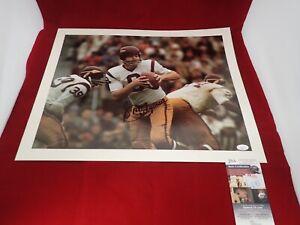 Sonny Jurgensen Signed Autograph Washington Redskins 16x20 Photo - JSA NN75702