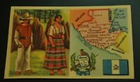 Vintage Cigarettes Card. GUATEMALA. REGIONS OF THE WORLD COLLECTION