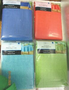 TABLECLOTH..CHLORIDE-FREE PEVA..ASSORTED SIZES