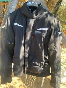 USED BMW Mens Black Street Air Dry Jacket Size 46 L