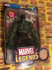 "ToyBiz Marvel Legends Series I ""Hulk"" Action Figure w/ Comic Book *Brand NEW*"