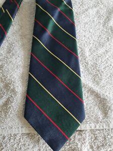Brooks Brothers NAVY/GREEN Tie BRAND NEW  Pure Silk