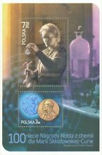 100 years of Chemistry Nobel Prize to Maria Sklodowska-Curie Poland 2011 MNH