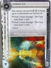 Android Netrunner LCG - 1x #030 Nerine 2.0 - Station One