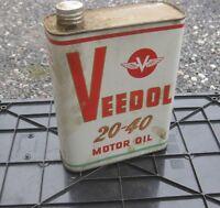 * bidon huile VEEDOL motor oil   oil can tin