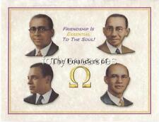 FOUNDERS Series - Omega Psi Phi Print - OMEGA FIETTS (Version 1)