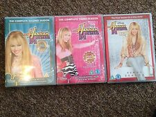 Hannah Montana Complet seasons 2,3 and 4. UK RELEASE REGION 2 - 10 DISKS - RARE