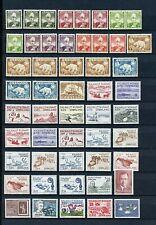 Greenland #1/272 & #B9/B16 (Gr221) Nice Group with Duplicates,Mnh, Cv$272.20