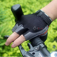 Summer Cycling Glove GEL Pad Bike Bicycle Sports Half Finger Gloves Size M-XL