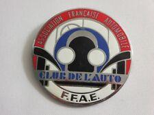 Vintage Association Francaise Automobile Club de L'Auto FFAE Badge Emblem