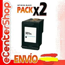 2 Cartuchos Tinta Negra / Negro HP 301XL Reman HP Deskjet 1000