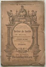 New Orleans French Opera House Brochure -1890