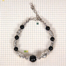 HOT Free shipping New Tibet silver multicolor jade turquoise bead bracelet S123B