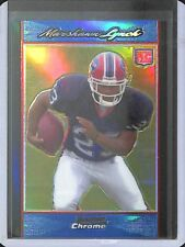 2007 Bowman Chrome Blue Refractor Rookie #BC66 Marshawn Lynch No 8 of 150