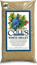 Cole's Cwbmi10 White Millet Bird Seed, 10-Pound