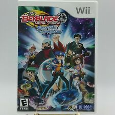 Beyblade Metal Fusion Battle Fortress Nintendo Wii Game Case Hudson No Manual