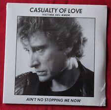 Johnny Hallyday, casualty of love / ain't no stopping me now, CD single
