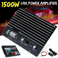 Car Stereo Audio High Power Amplifier Board Auto Bass Subwoofer Replace 1500W