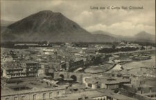 Lima Peru Con El Centro San Cristobal c1910 Postcard