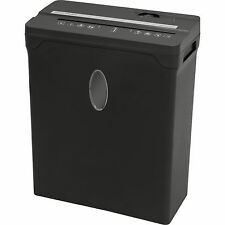 Sentinel Compact 8 Sheet Cross-Cut Shredder Paper | Credit Cards | Black