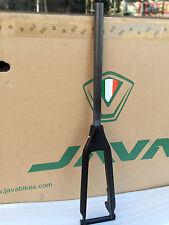 """451 Carbon Fork 20"""" 1 1/8"""" 406 Rigid Forks For Mini Velo Bike Caliper Disc Brake"""