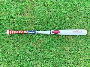 Rawlings VELO ASH Wood Baseball Bat Ash(-7.5) 29'/21.5 ounce Youth very nice USA