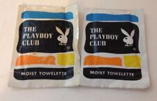 Vintage The Playboy Club Moist Towelette - 2 packages