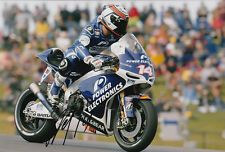 Randy De Puniet MotoGP Hand Signed Power Electronics Aspar ART Photo 12x8 2013 9