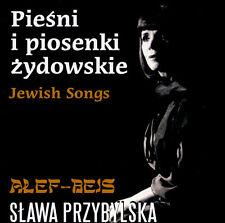 = SLAWA PRZYBYLSKA - PIESNI ZYDOWSKIE /CD JEWISH SONGS