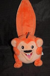 Neopets Orange Meerca Series 3 Stuffed Animal Lovey 2008 Jakks
