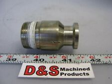 """Sanitary Fitting Adapter 1"""" NPT to 5/8"""" ID 1"""" Flange"""