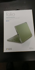 ZAGG Folio Case Hinged With Bluetooth Keyboard for iPad Air 2 - Sage