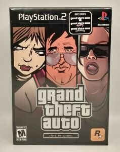 Grand Theft Auto The Trilogy (Sony PlayStation 2 PS2) Brand New, Factory Sealed