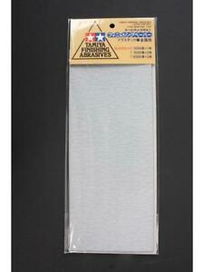 Tamiya 87024 Finishing Abrasives Exfine Grit Use on Metal, Plastic or Wood